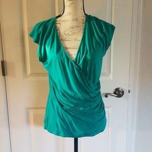 Green sleeveless shirt by Ralph Lauren